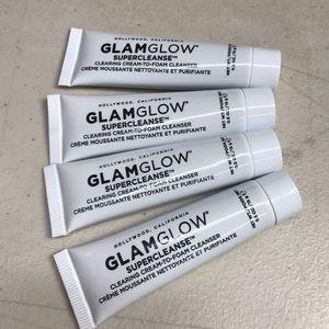 Glamglow foam cream cleanser new set x 4